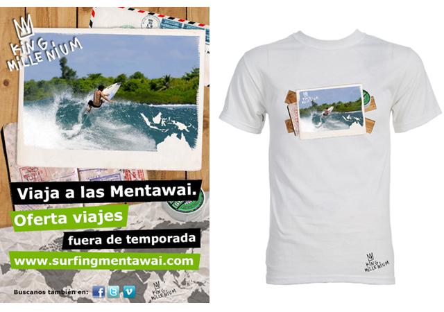 Propuesta Cartel + Camiseta Kingmillenium