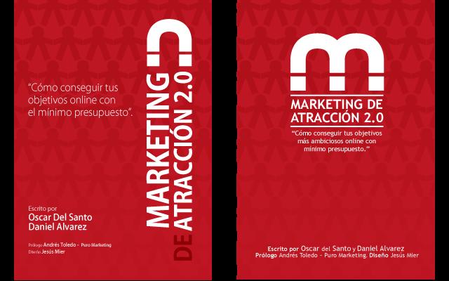 Alternativas portada eBook marketing de Atraccion