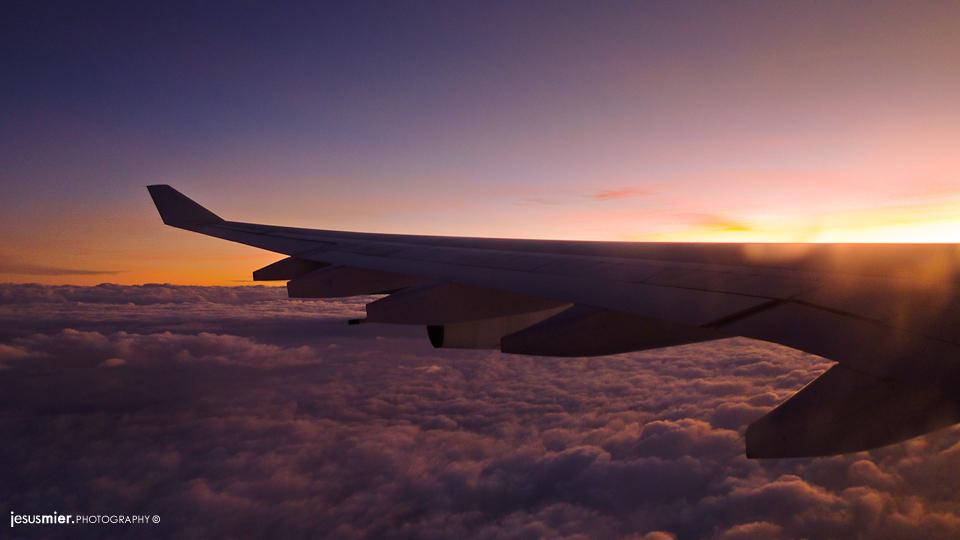 Desde el avión, Quito - Madrid