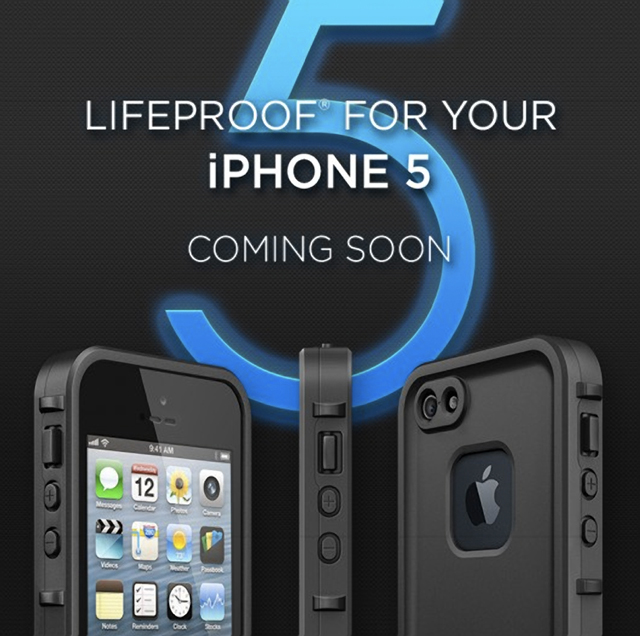Funda sumergible para el iPhone 5, pru00f3ximamente por Lifeproof