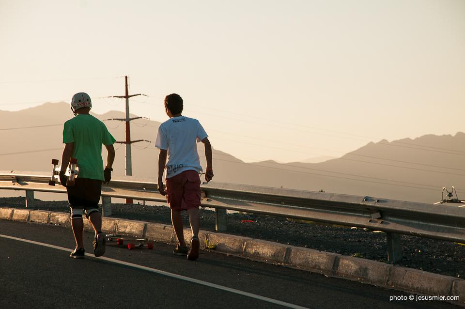 Sunset Longboard Riders
