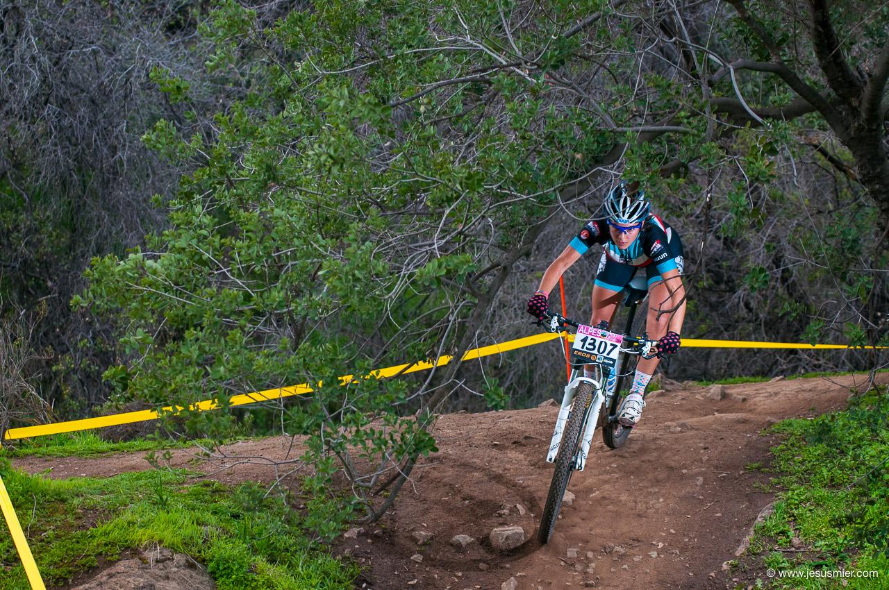 Agosto 2014 - 3ª Copa Alpes MTB. Ciclista: Pilar Corvalan