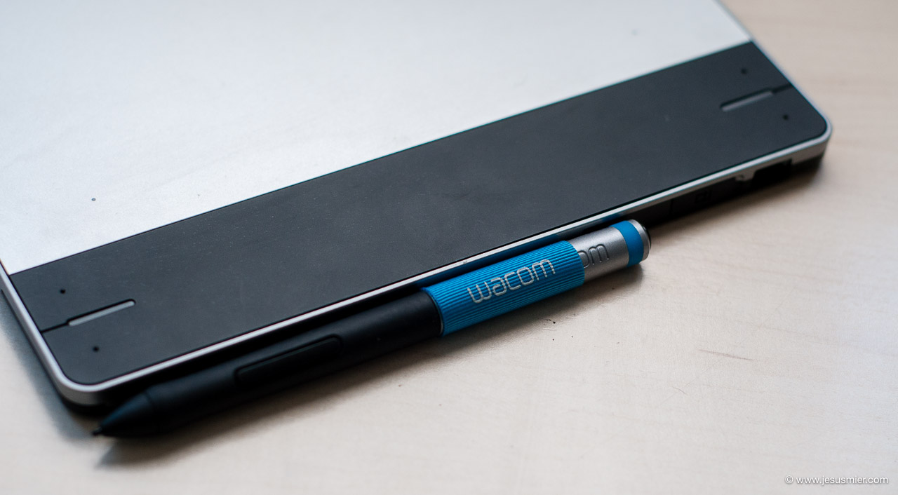 Wacom Intuos Pen Detalle etiqueta