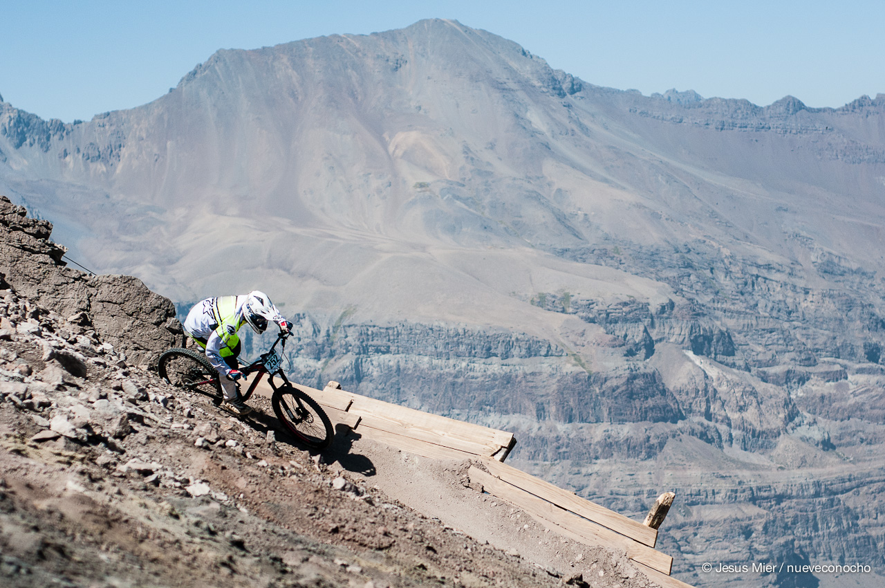 Jorge Acuña, Copa Lippi Cannondale, Valle Nevado 2015 - Foto: J