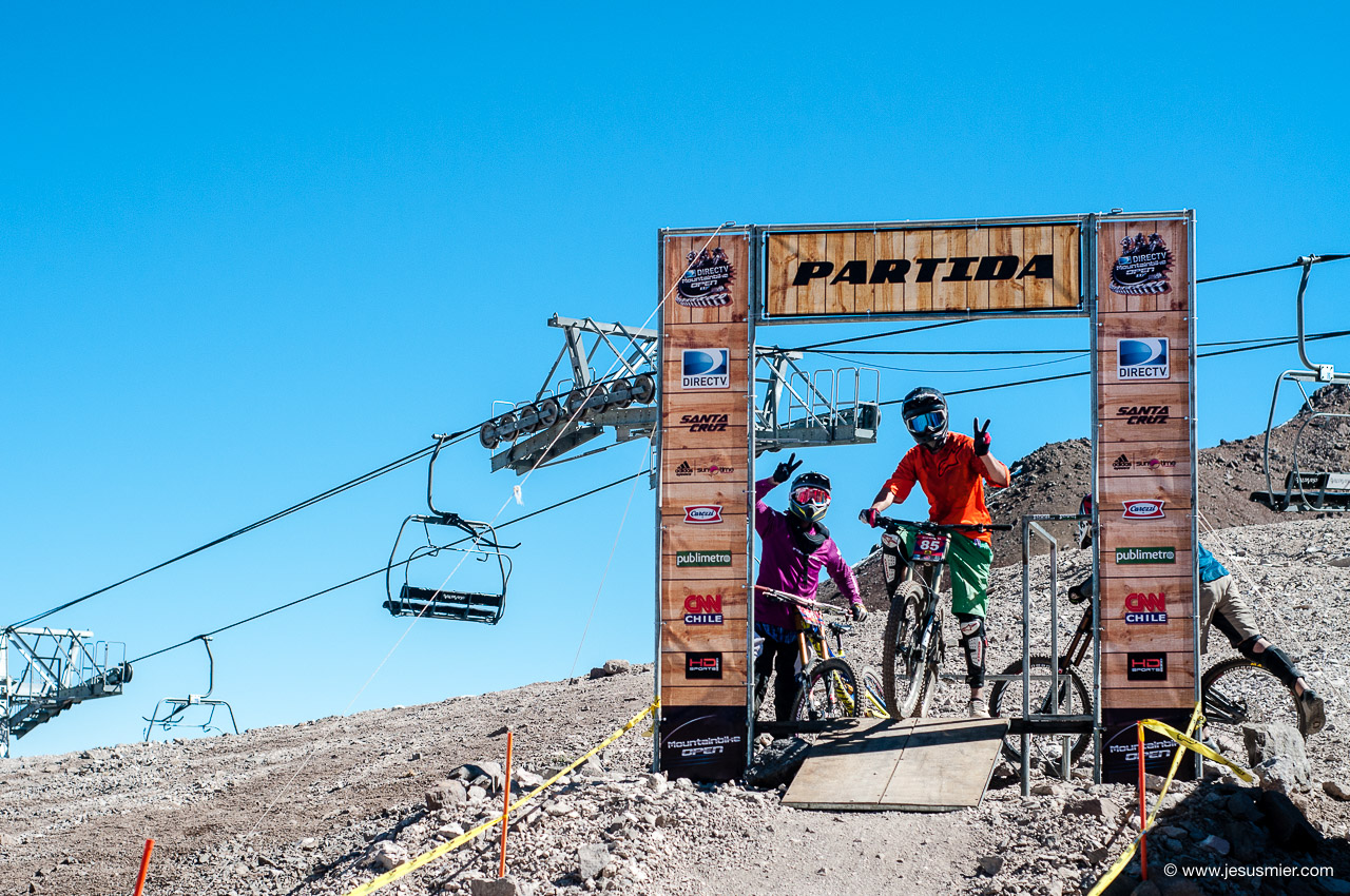 Partida, DirecTv Súper Downhill 2015. Foto: Jesús Mier