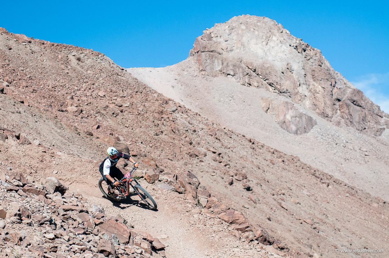 Gonzalo Harambilet, DirecTv Súper Downhill 2015. Foto: Jesús Mier