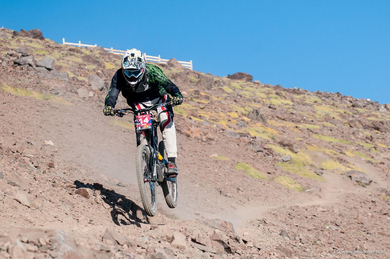 Gustavo Ortiz, DirecTv Super Downhill 2015. Foto: Jesús Mier