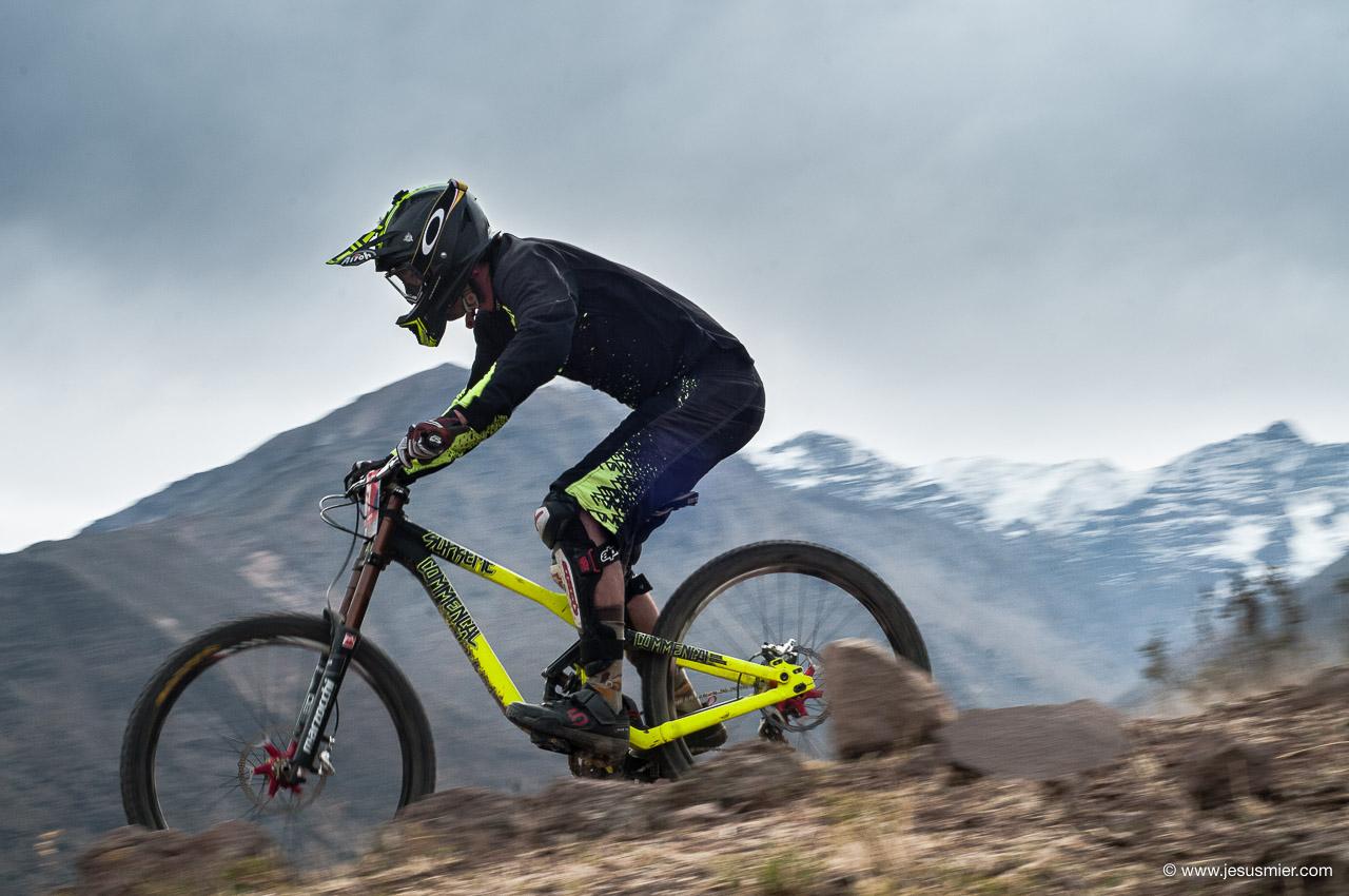 Antonio Leiva, DirecTv Super Downhill 2015. Foto: Jesús Mier