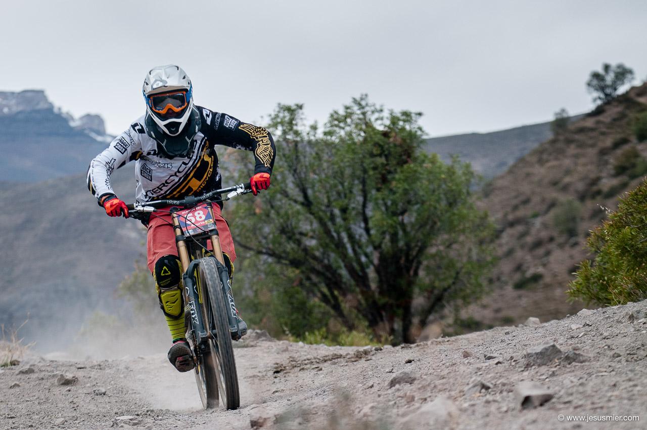 Felipe Agurto, DirecTv Super Downhill 2015. Foto: Jesús Mier