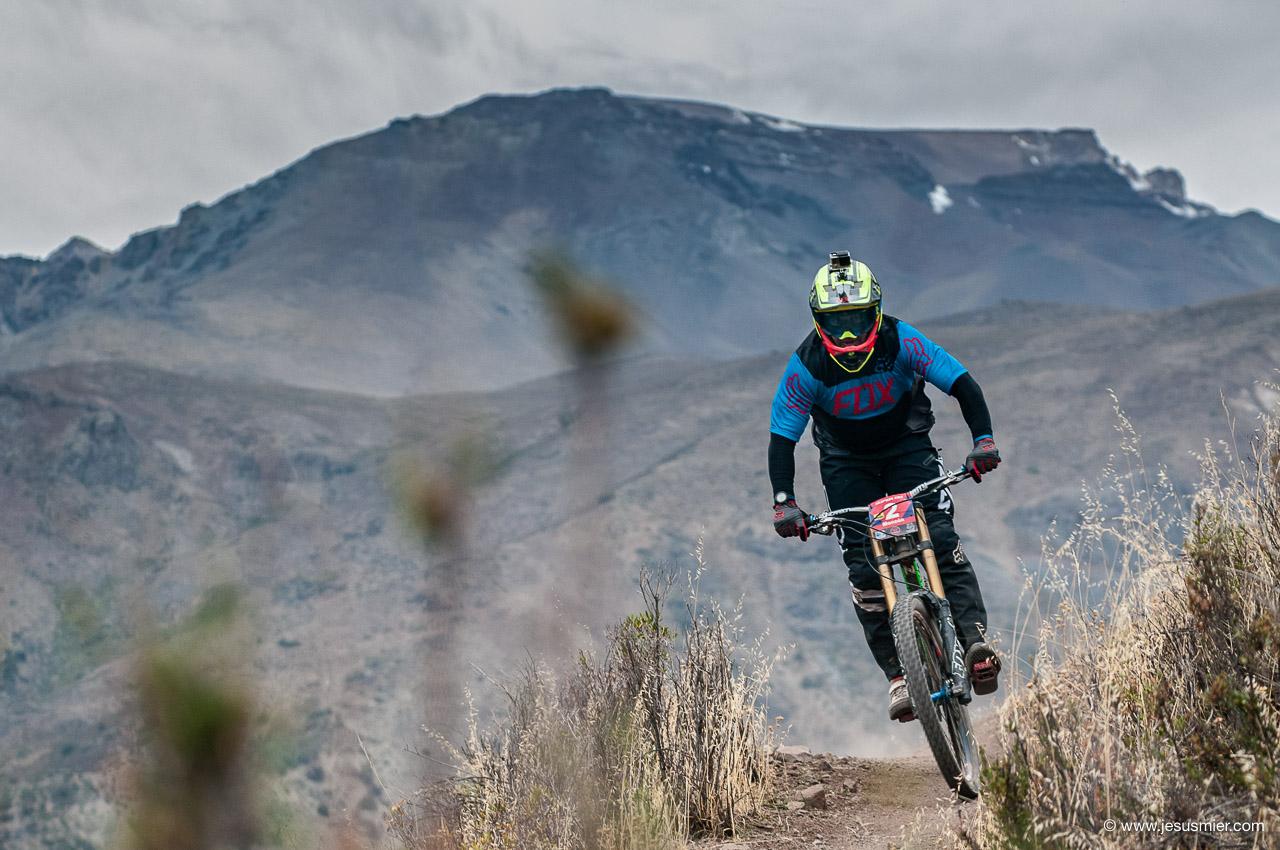Jorge Monzon, DirecTv Super Downhill 2015. Foto: Jesús Mier