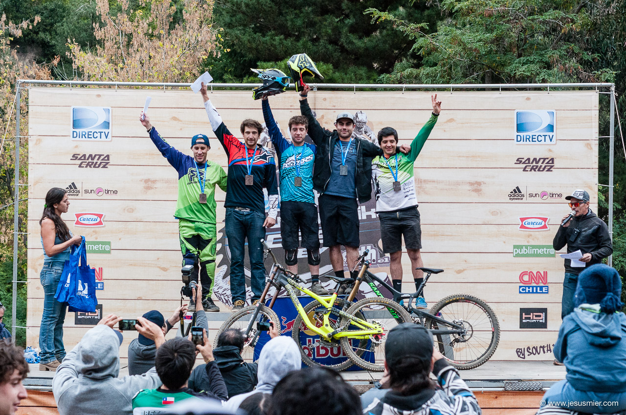 Podio, DirecTv Super Downhill 2015
