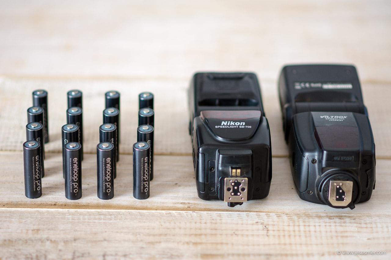 Pilas recargables Eneloop Pro Flash Nikon