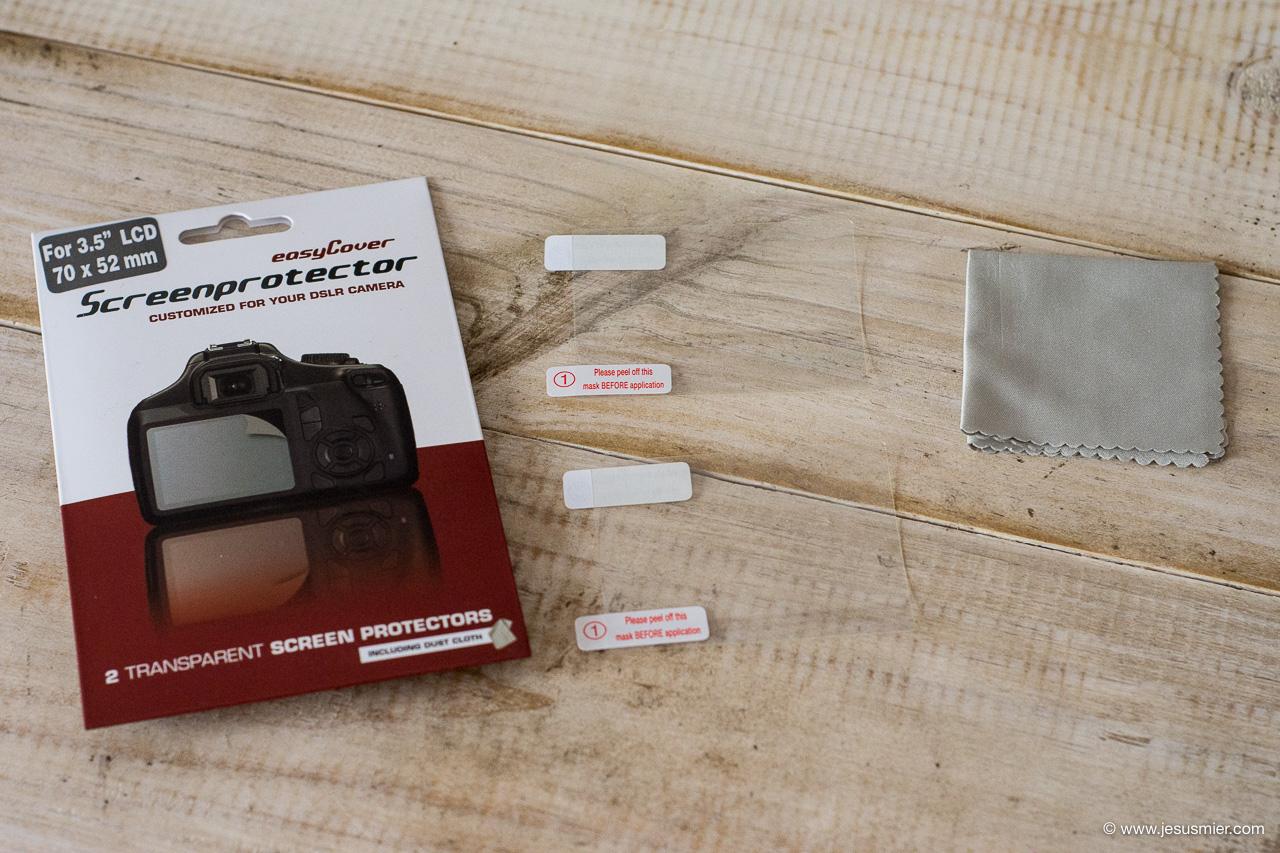 Protector pantalla cámara EasyCover