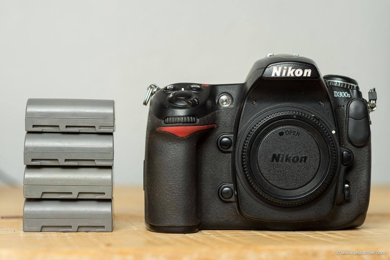 Baterias clonicas Nikon D300s EN-EL3e