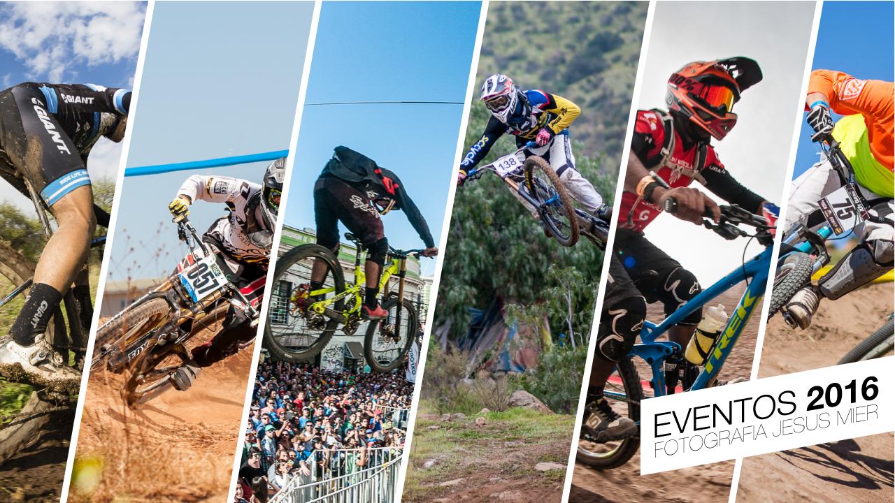 Resumen eventos fotografiados en el 2016 por Jesus Mier Fotografo deportivo