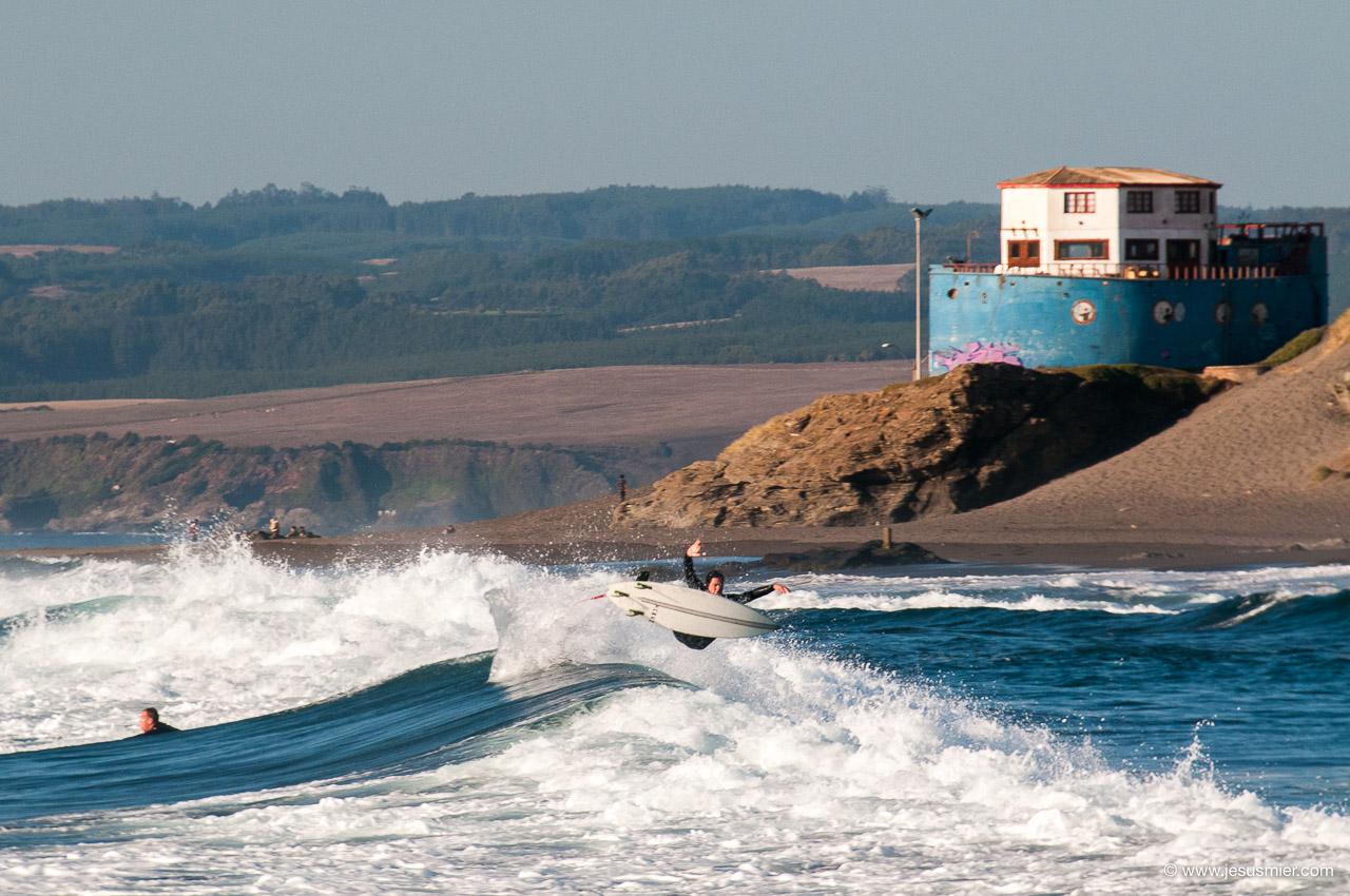 Surf Trip por Chile. Foto: Jesus Mier
