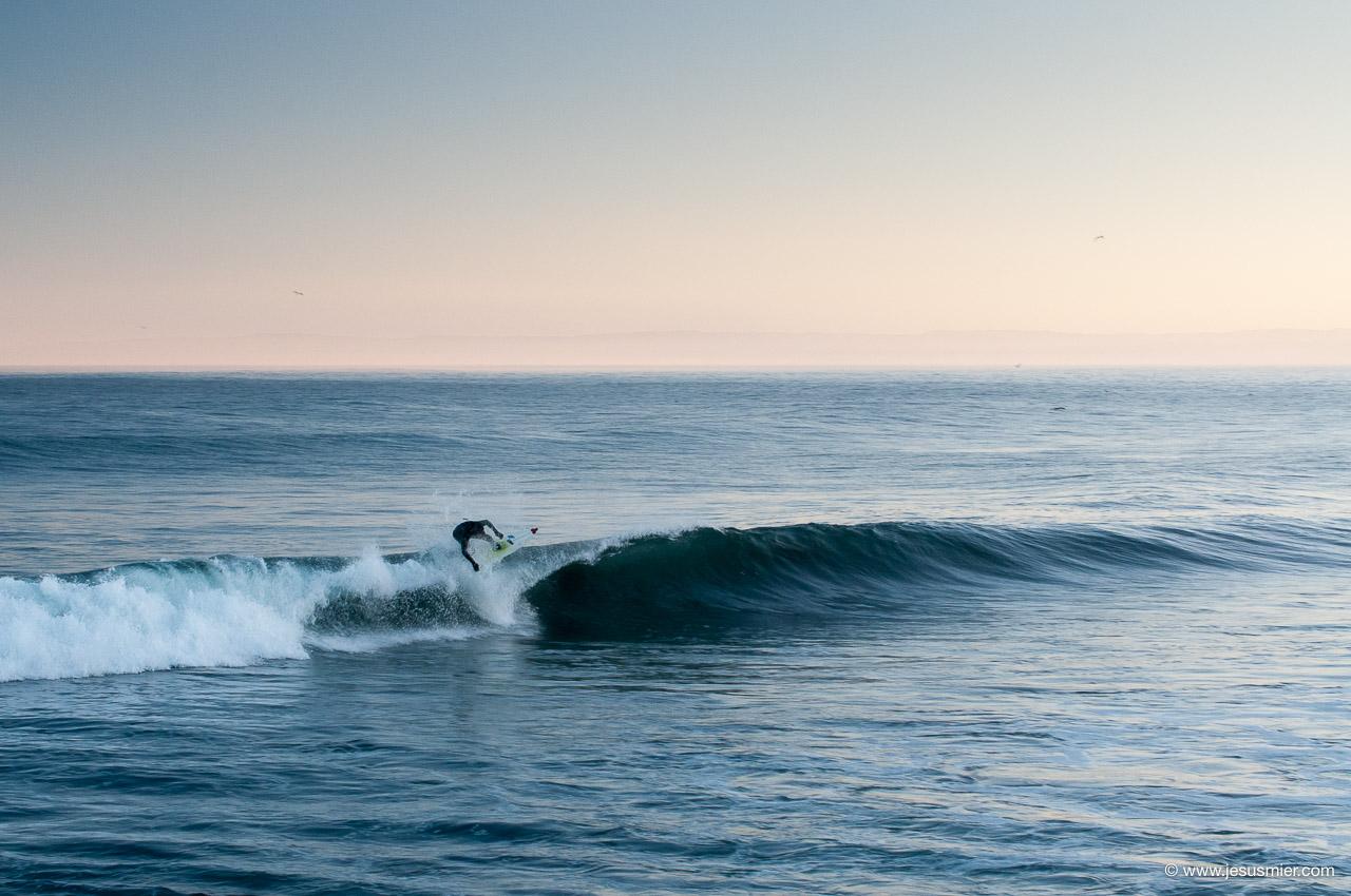 Surf Trip por Chile Marzo 2013. Sesion mañanera 3 Foto: Jesus Mier