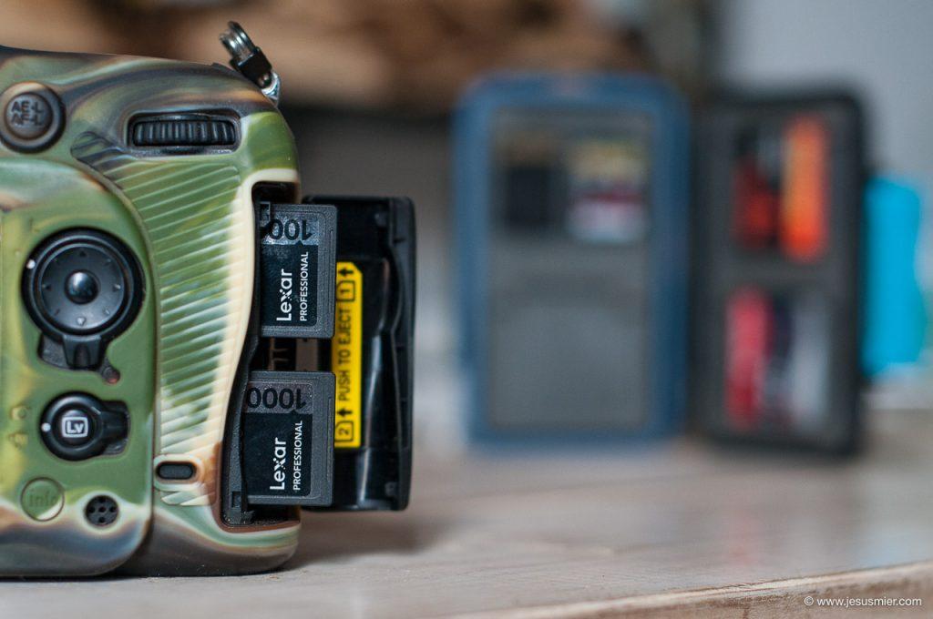 Tarjetas de memoria SD Nikon D7200