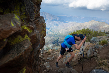 La Gran Travesia 100K 2019. Cordillera de la Costa. Chile. Foto: Jesus Mier