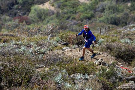 Joel Barra, La Gran Travesia 100K 2019. Cordillera de la Costa. Foto: Jesus Mier
