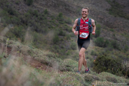 Esteban Garcia, Endurance Callenge 2019 - 80K Chile. Foto: Jesus