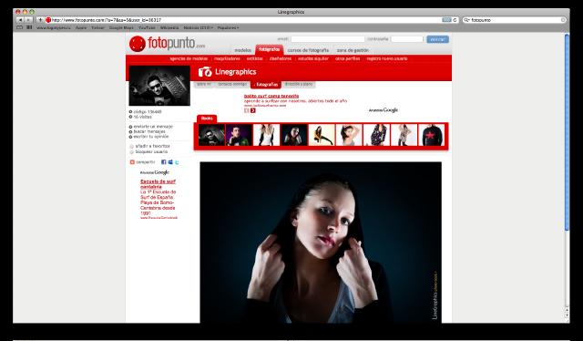 perfil fotopunto Jesus Mier - fotografia de moda y retrato