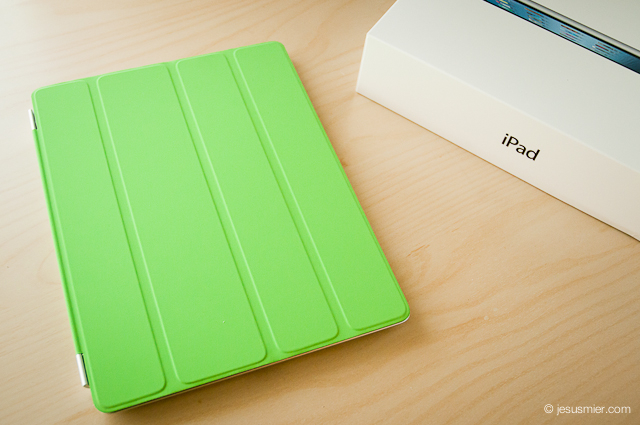 My new iPad + Smart Cover