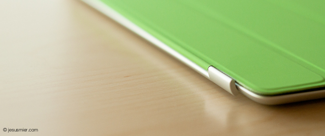 iPad smart cover detail