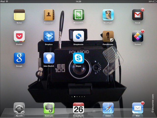 Apps de productividad iPad