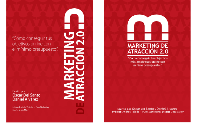 Alternativas portada eBook marketing de Atraccion