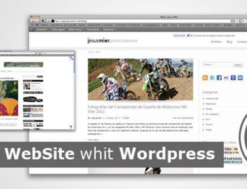 Pasando de Blogger a WordPress, Mi nueva web
