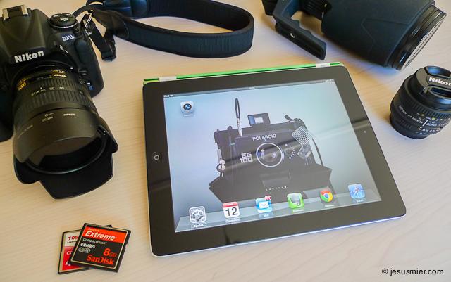 iPad para fotografos