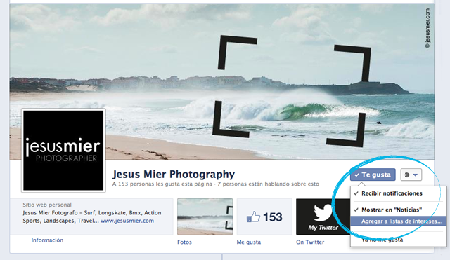 Facebook Jesus Mier Photography