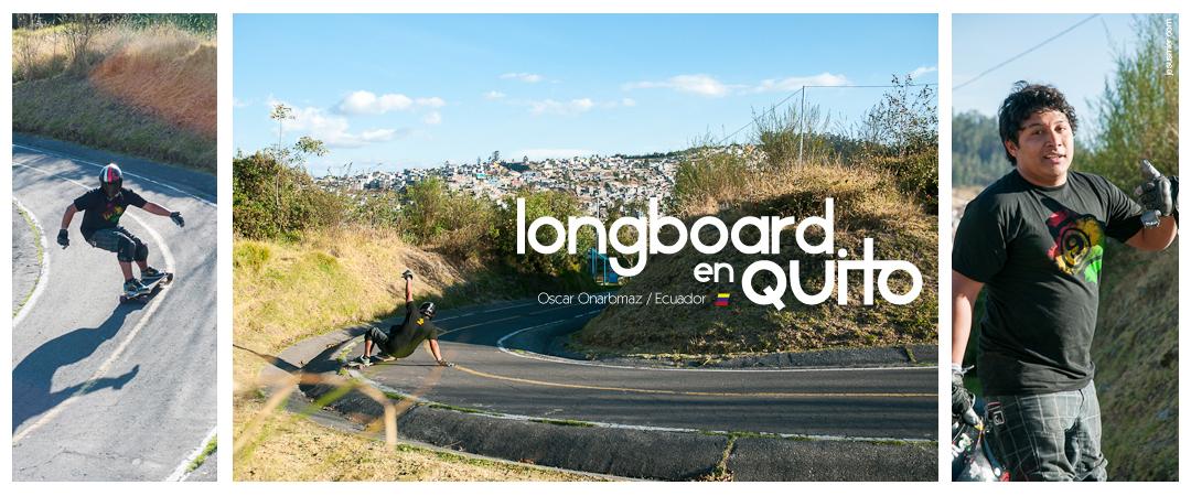 longboard con Oscar Onarbmaz