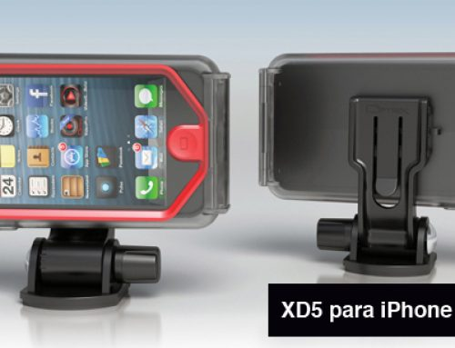 Funda sumergible y protectora para el iPhone 5 de Optrix