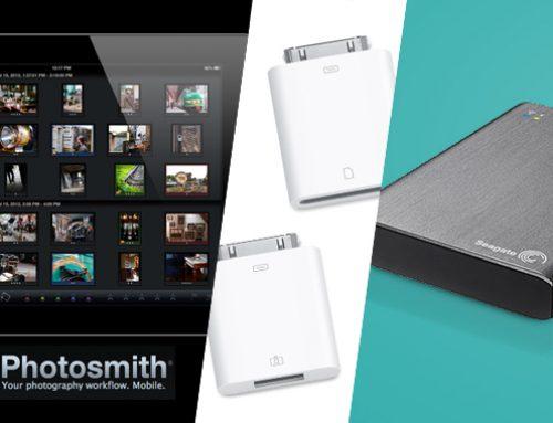 Herramientas para catalogar y empezar a trabajar con nuestras fotografías en el iPad