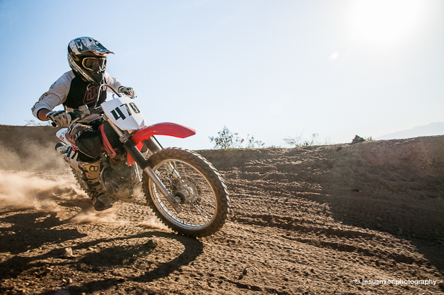 Fotografia de Enduro Rider Yerco Leon