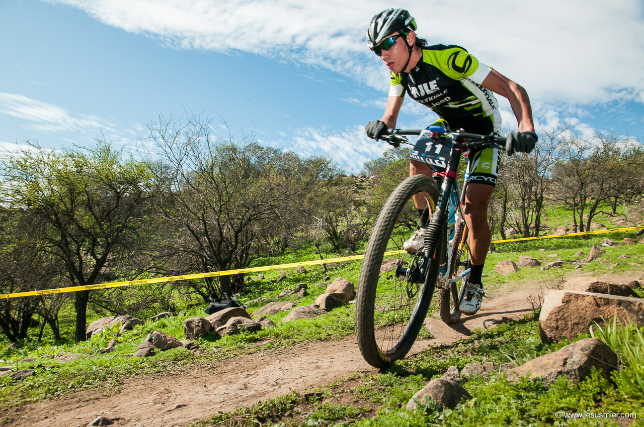 Agosto 2014 - Directv XCO Open, Chicureo. Ciclista: Patricio Campbell