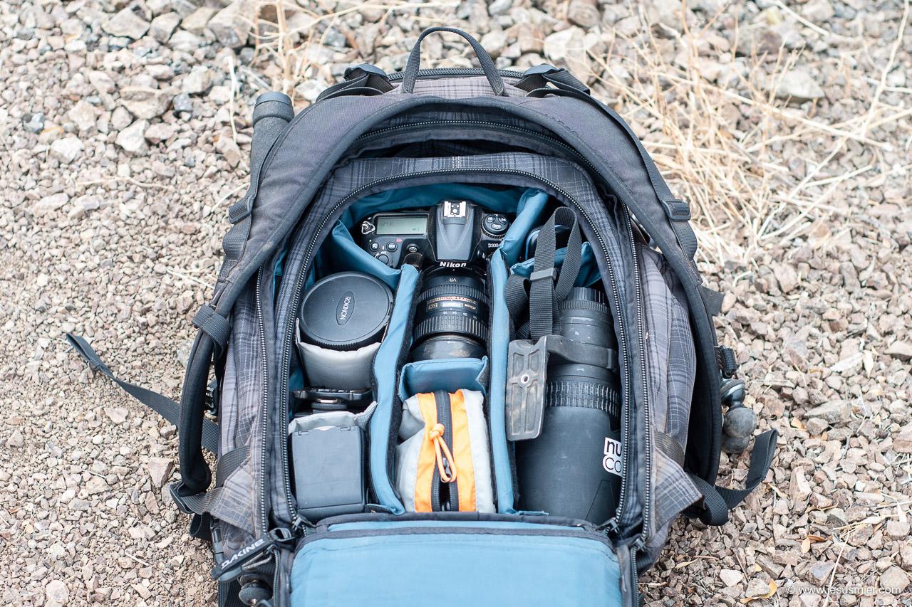 Dakine Sequence 33L - Acceso material fotografico