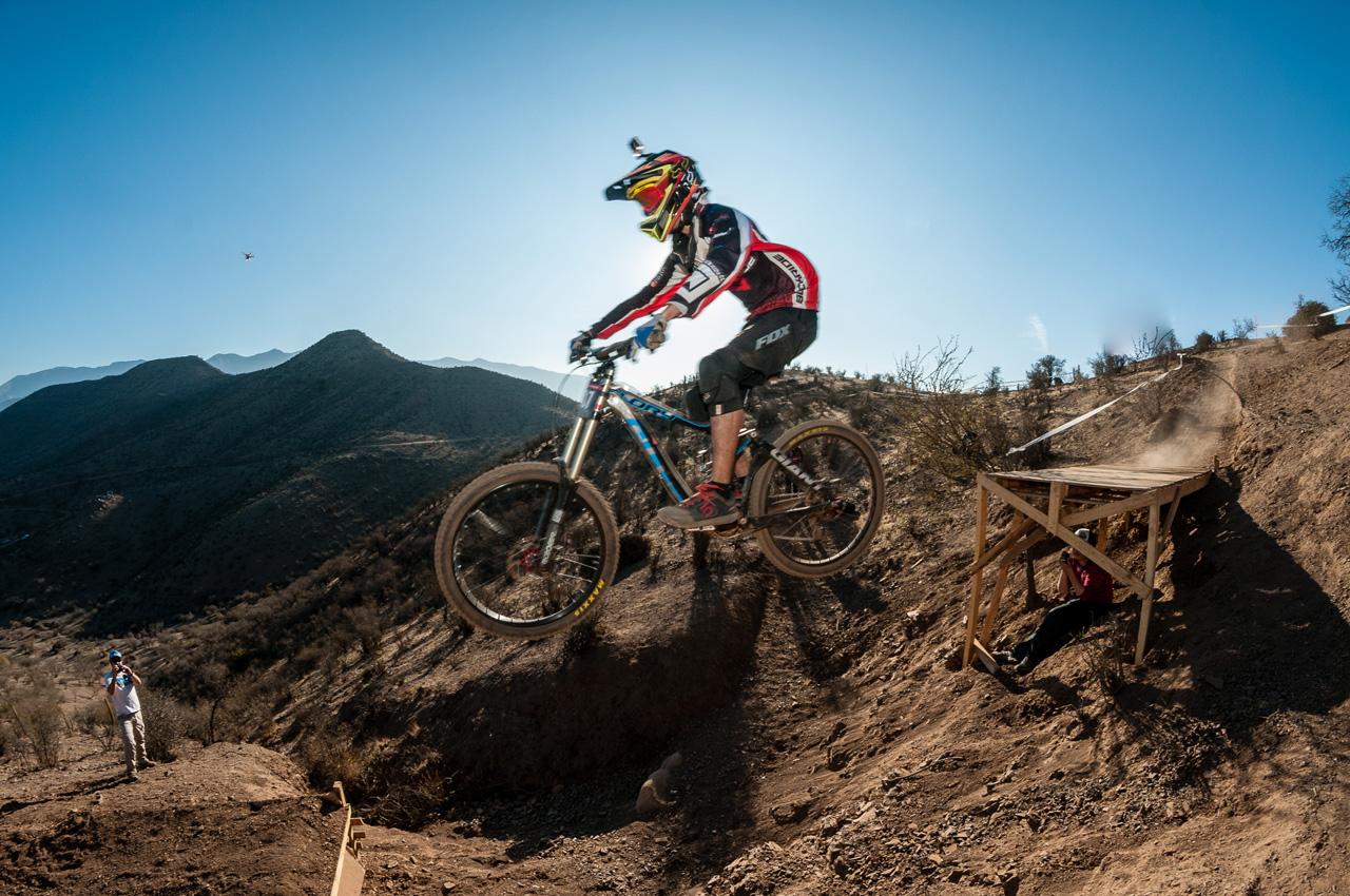 1ra Copa Aconcagua DHI 2015. Rider: Jairo Felipe. Foto: Jesus Mier