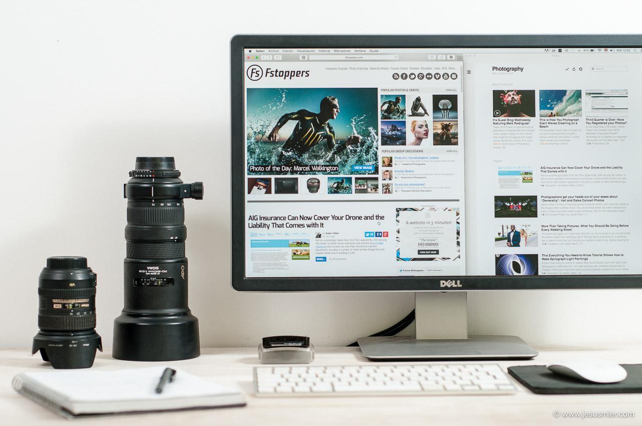 Webs de fotografia recomendadas en ingles