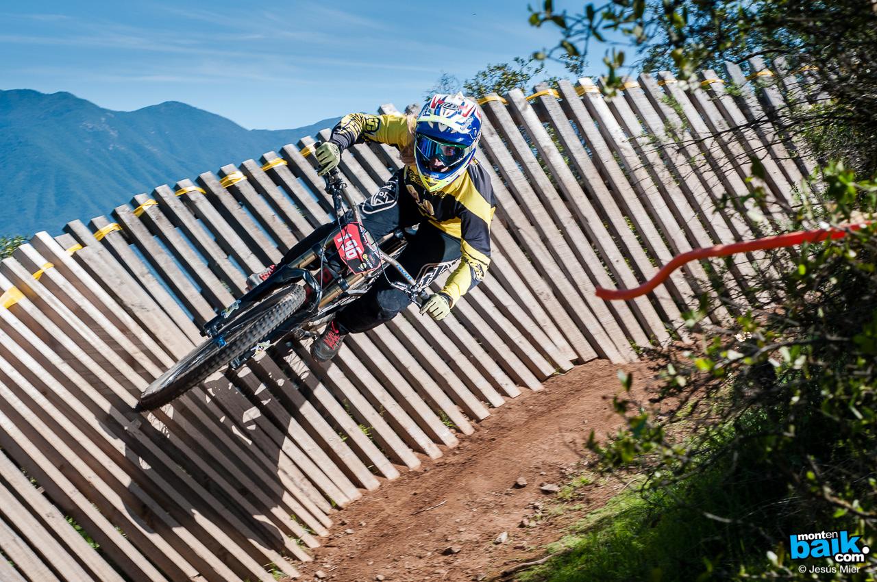 Curacavi Downhill Race 2015 - Rider: Andrea Farias  - Foto: Jesu