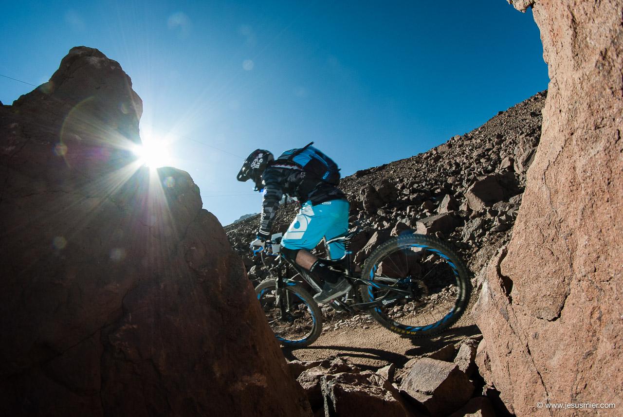 Berardo Fuentes, DirecTv Súper Downhill 2015. Foto: Jesús Mier