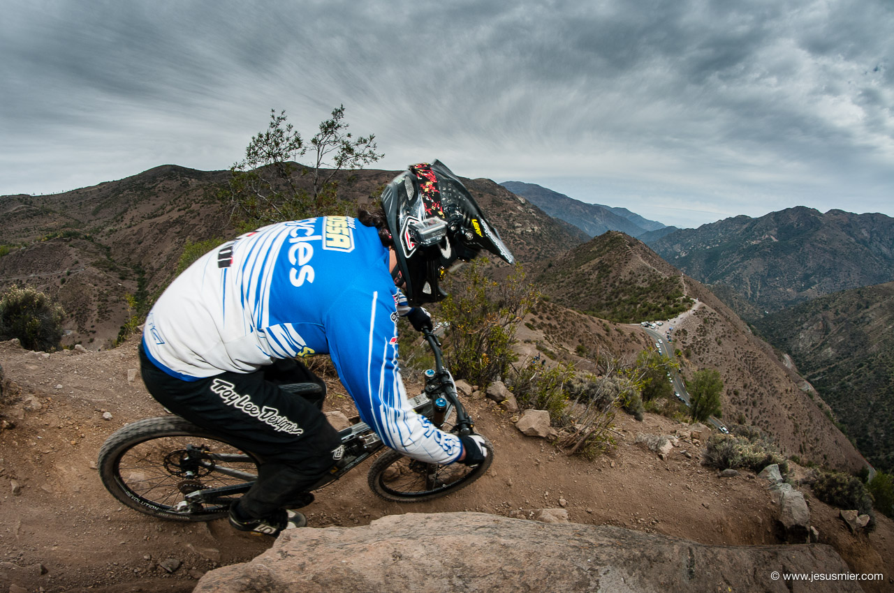 Franco Rosas, DirecTv Super Downhill 2015. Foto: Jesús Mier