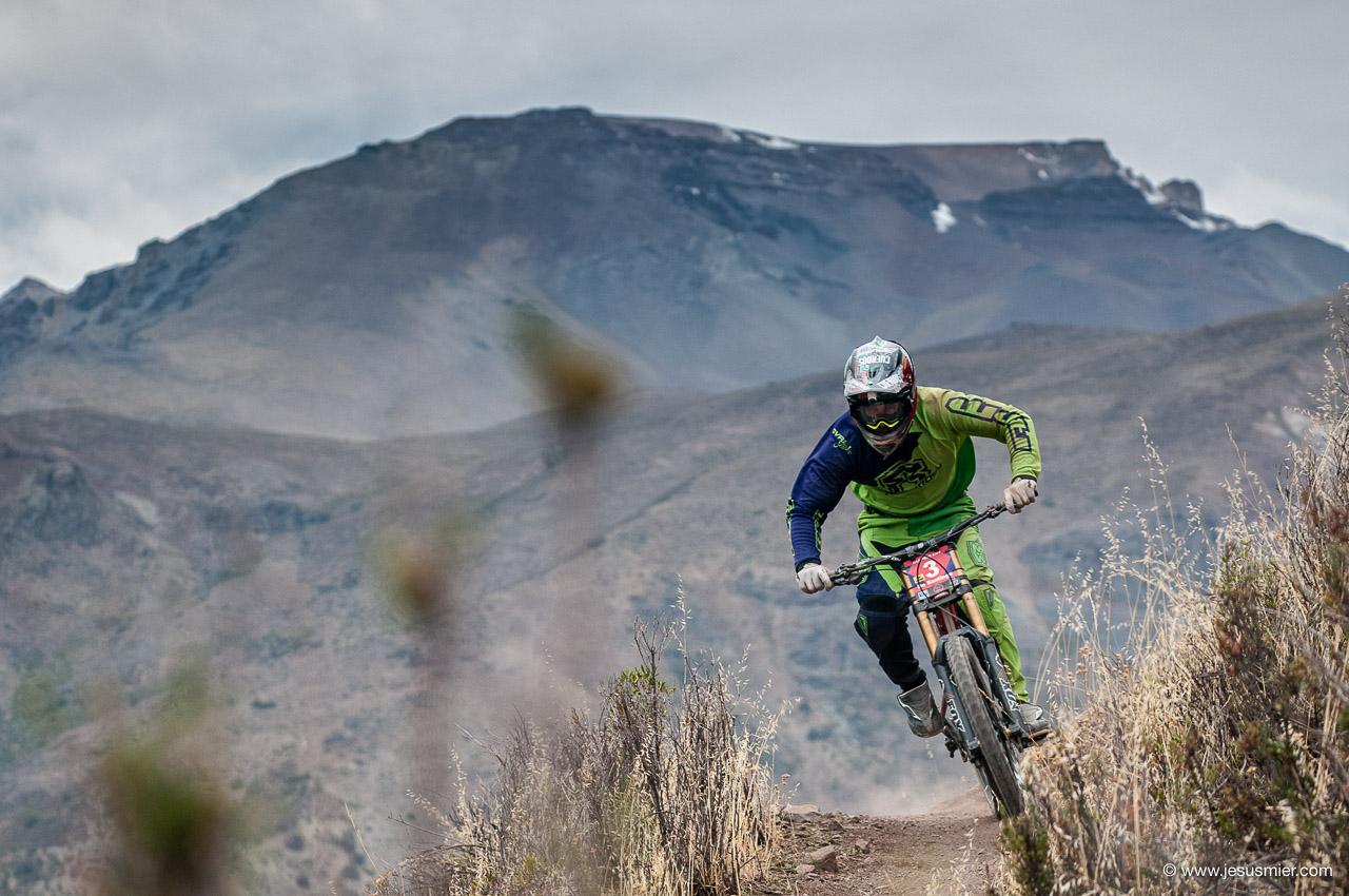 Santiago de Santiago, DirecTv Super Downhill 2015. Foto: Jesús