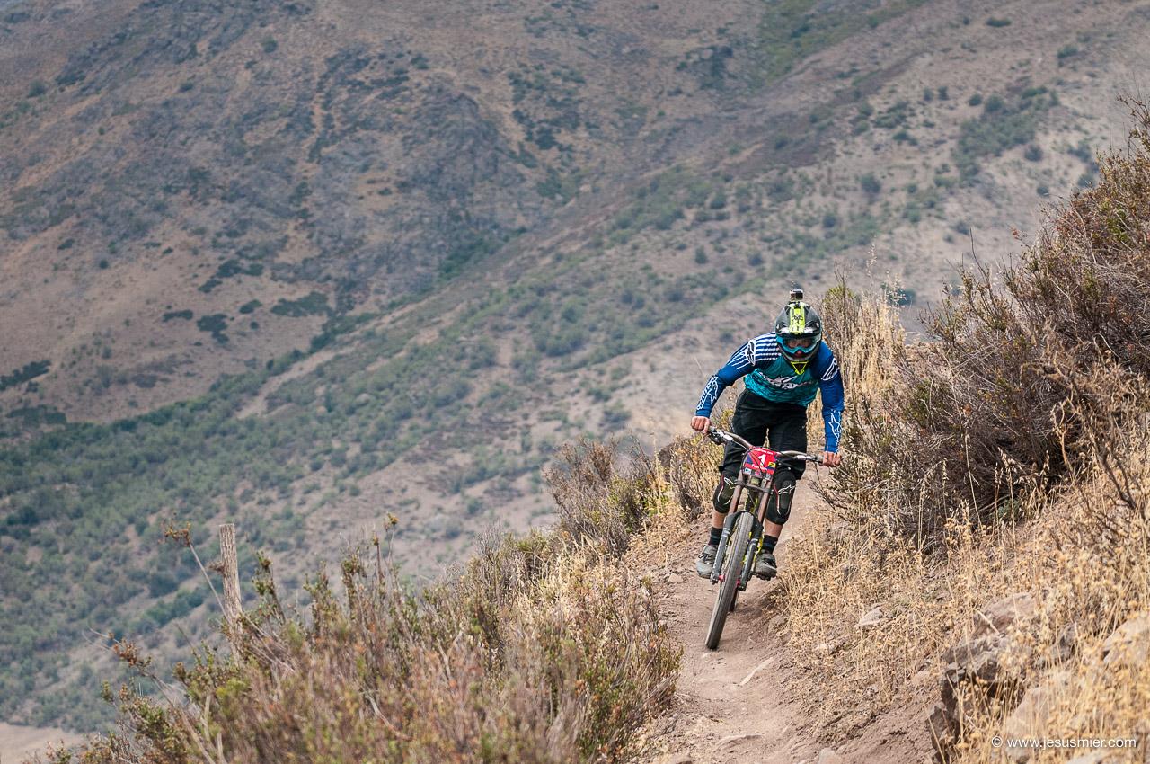 Pedro Ferreira, DirecTv Super Downhill 2015. Foto: Jesús Mier