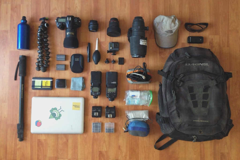 Whats in my camera bag. Sports photographer. Feb 2016