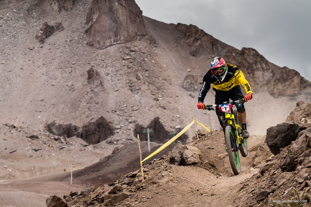 Nicolas Prudencio, Montenbaik Enduro Series 2016. La Parva, Foto: Jesus Mier