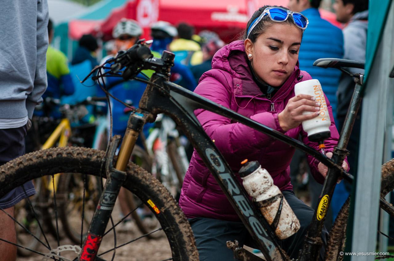 Evelin Muñoz, Mtb Tour, Limache 2016 Foto: Jesus Mier