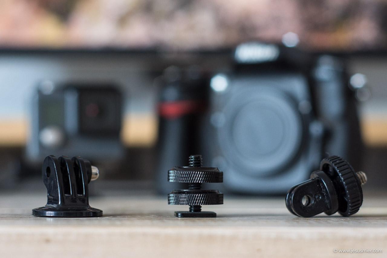 Accesorios GoPro para fotografos